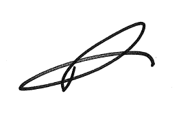 Signature of Rob Patterson